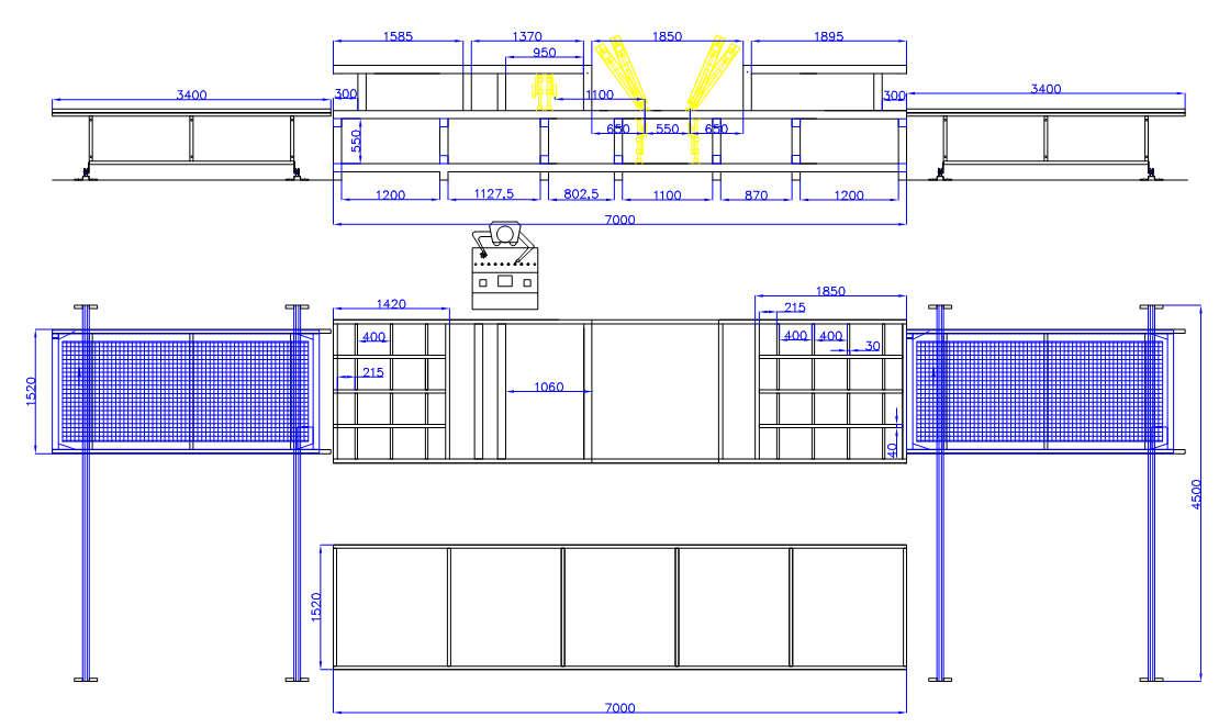 3D wire panel,3D Wire Panel Joint Detail Drawings - Anber EPS Machine